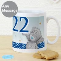 Personalised Me To You Big Age Male Birthday Celebration Mug - ideal gift for him, Dad, Friend, Uncle, Husband, Son